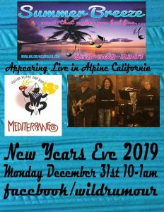 "LIVE MUSIC By ""Summer Breeze"" at the Mediterraneo Bar & Bistro @ The Mediterraneo Bar & Bistro"
