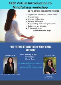 """FREE Virtual """"Introduction to Mindfulness"""" Workshop @ Introduction to mindfulness"""