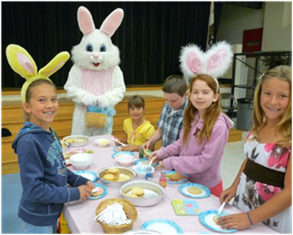 Alpine Kiwanis Easter Breakfast Photo 2013