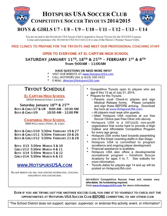 Hotspurs_Tryout Flyer-Youngers-2014