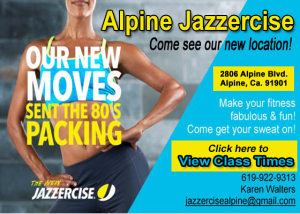 Jazzercise Class @ Alpine Jazzercise | Alpine | California | United States