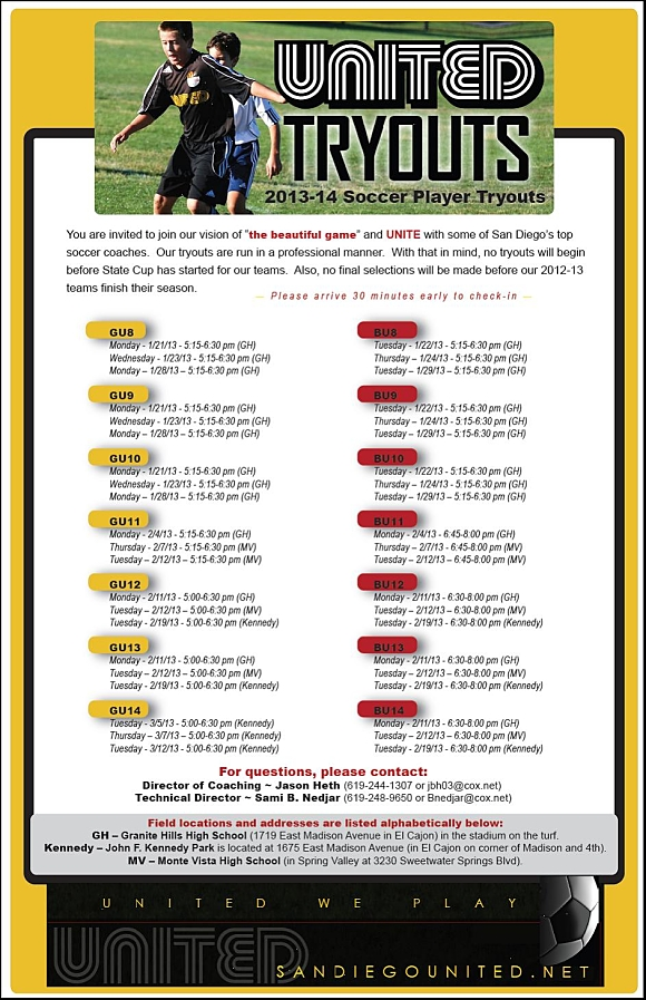 SD United Soccer Tryouts flyer 2013_opt