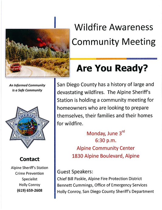 Wildfire Awareness Meeting 2013
