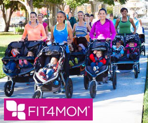 Fit4Mom Stroller Strides Class @ The Alpine Community Center Park (Behind the Library)