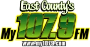 My 107.9 Logo, Alpine CA., 91901